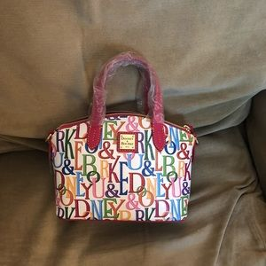 NWT DOONEY & BOURKE MINI SATCHEL